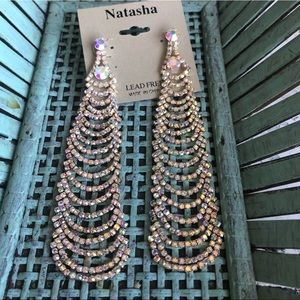 Natasha cascading earrings